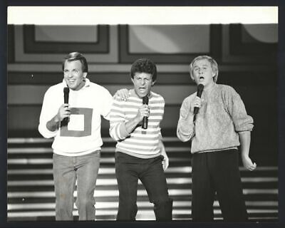 1980s FRANKIE AVALON, BOBBY RYDELL & FABIAN Vintage Original Photo GREASE gp