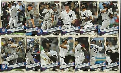 NEW YORK YANKEES 2019 Topps Big League BASE TEAM SET (13 Cards) Judge-Voit+++