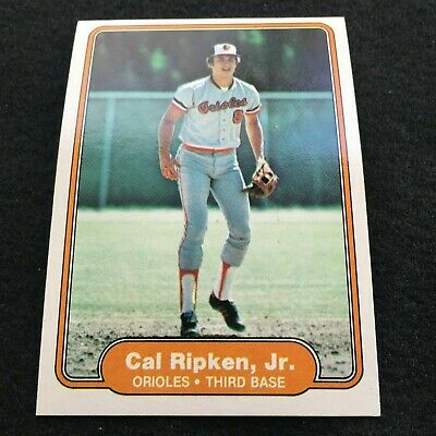 1982 Fleer 176 Cal Ripken Jr Baltimore Orioles Rc Rookie