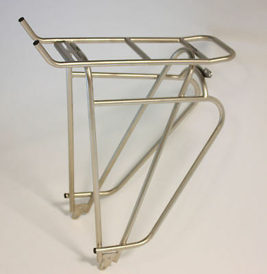 """Tubus Cosmo Bicycle Luggage Rack Stainless Steel 26 """" 28 New"""