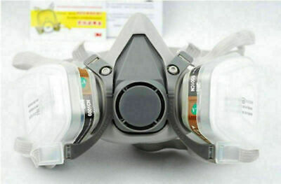 For 3M 6200 N95 Dust Gas Half Face Mask Respirator Painting Spraying Safety