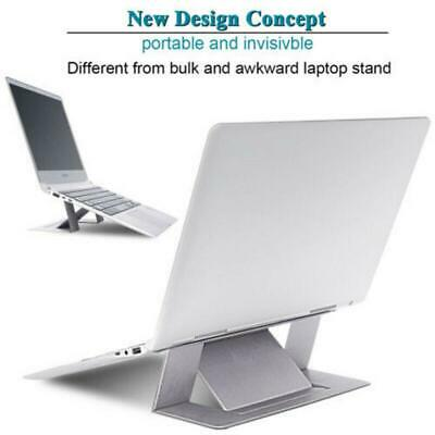"""Adjustable Invisible Portable Folding Laptop Stand for MacBook W 6.69/""""//L 8.86/"""""""