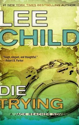 Die Trying by Lee Child (English) Paperback Book Free Shipping!