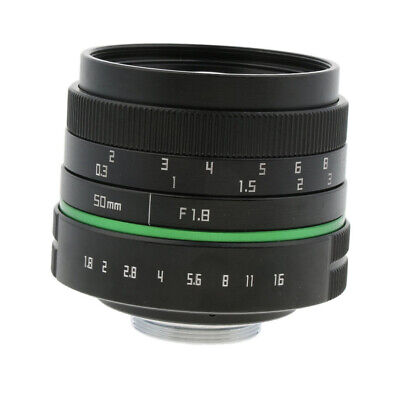 50mm F/1.8 Manual Focus Prime Fixed Lens For Sony Canon Mirrorless Camera