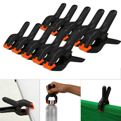 Photo Studio Light Photography Background Clips Holder Backdrop Stand Clamps ACC