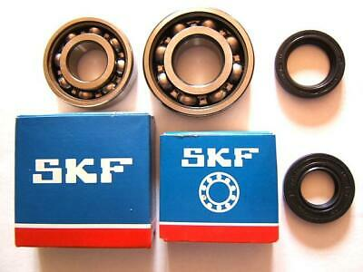 A(P11) Peugeot 2 Roulements Skf + 2 Joints Spy Vilebrequin 101 102 103 104 Tsa