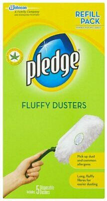 Pledge Pick Up Dust Dirt And Lint Effortless Swipes Fluffy Duster 20 Refills