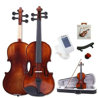 Glarry Acoustic Violin 4/4 Brilliance Spruce Wood w/Case Musical Instruments