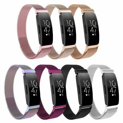 For Fitbit Inspire/Inspire HR Stainless Steel Milanese Magnetic Loop Band Strap