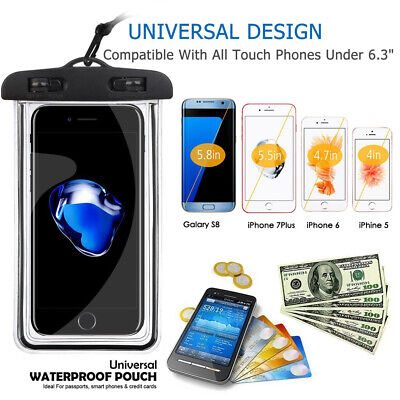 Floating Waterproof Underwater Case Cover Bag Dry Pouch Mobile Phone Lightweight