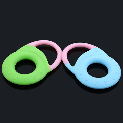 Safe Baby Kids Teether Chew Teething Infant Chewing Training Silicone Toy C
