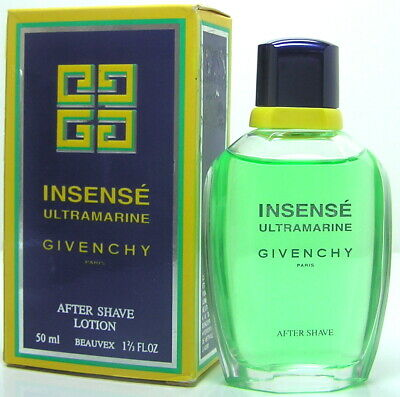 74e41f9c9a GIVENCHY INSENSE ULTRAMARINE after shave uomo VINTAGE 50 ml '90s ...
