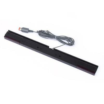 Wired Motion Sensor Remote Infrared Ray IR Inductor Bar For Nintendo Wii