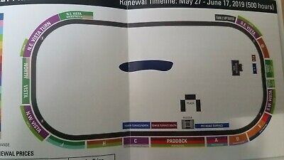 2019 Indianapolis Indy 500 tickets 2 Tickets - Stand C (covered with shade)