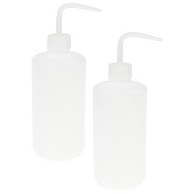 2pcs 500ml Safety Green Soap Wash Clean Squeeze Diffuser Bottle Lab Tattoo