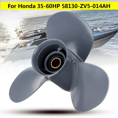 11 1/4 x 13 Marine Aluminum Outboard Propeller For Honda 35-60HP
