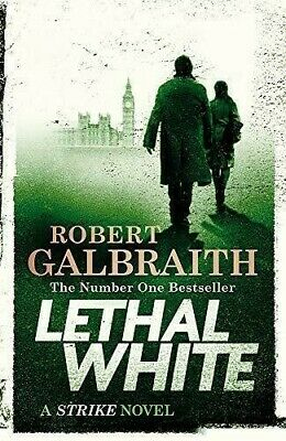 Lethal White - Audiobook - Cormoran Strike Book 4 - by Robert Galbraith