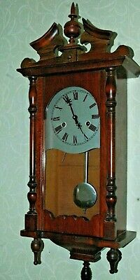 Antique/Vintage Wall Clock With Key.