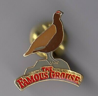 Rare Pins Pin's .. Alcool Vin Wine Scotch Whisky Whiskey The Famous Grouse ~Ei