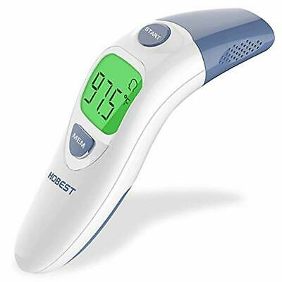 Hobest Baby Thermometer, Digital Clinical Infrared Forehead and Ear Thermometer