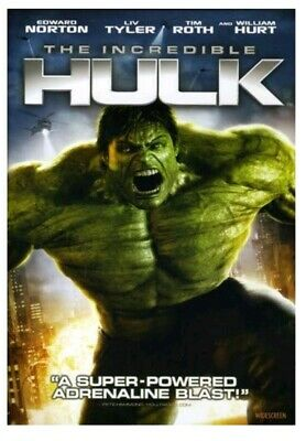 The Incredible Hulk (Widescreen Edition) (Bilingual) DVD -NEW-