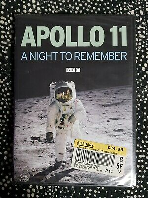 Apollo 11: A Night To Remember (DVD, 2009) Still In Shrink Wrap
