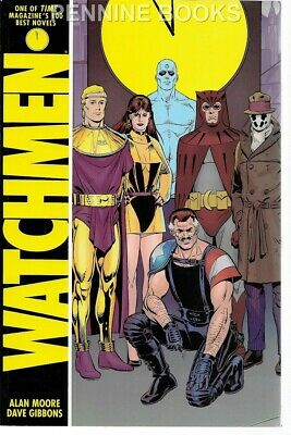 Watchmen by Alan Moore, Dave Gibbons (Paperback, 1987)