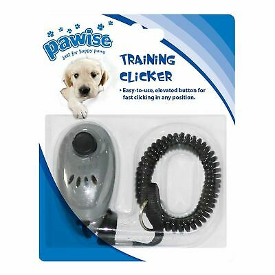 Professional Obedience Training Aid Behaviour Clicker Treat for Pet Dog Puppy