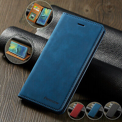 Case for iPhone 11 Pro Max XS XR 6s Magntic Flip Wallet Leather Book Phone Cover
