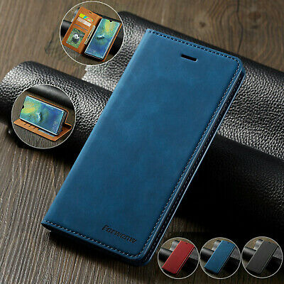 Case for iPhone XS Max 8 Plus 6S Magntic Flip Wallet Leather Book Phone Cover