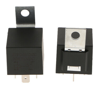 Pair Automotive 30A 12V Car Truck On Off Changeover Switch Fused 4Pin Relay