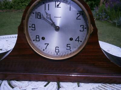 An Early Ansonia Two Train Chiming Mantel Clock,Working