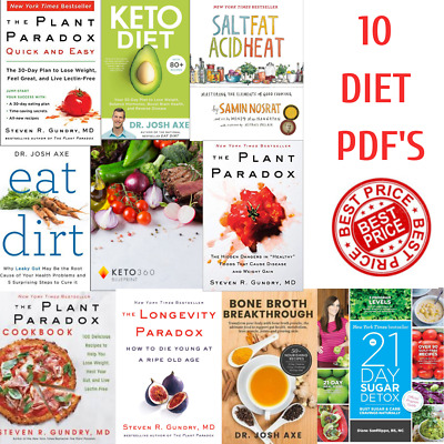 Paradox Plant By Dr. Steven R Gundry Your 30 Day Plan By Axe Josh Keto Diet P DF