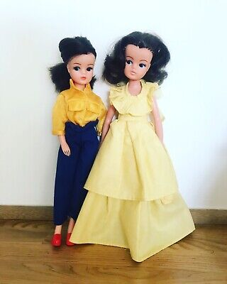 2 Sindy Dolls, Texas Rose And Emanuel Romantica