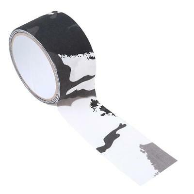 Outdoor Camo Gun Hunting Waterproof Camping Camouflage Stealth Duct Tape Wrap JD