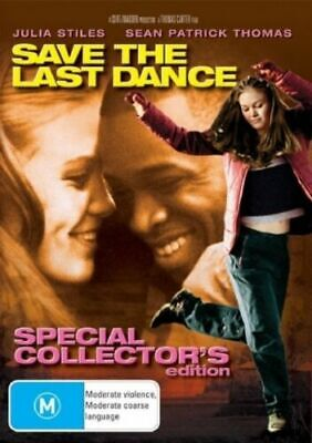 Save The Last Dance DVD Julia Stiles Brand New R4