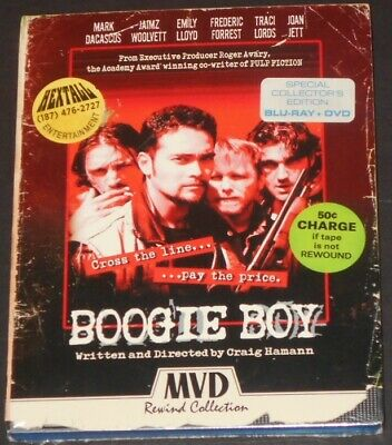 BOOGIE BOY usa blu-ray + dvd NEW mvd rewind collection JOAN JETT traci lords