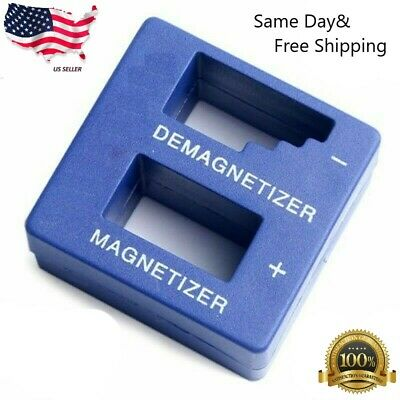 Lot of 2 Magnetizer Demagnetizer Magnetic Tool For Screwdrivers *SHIP FROM USA *