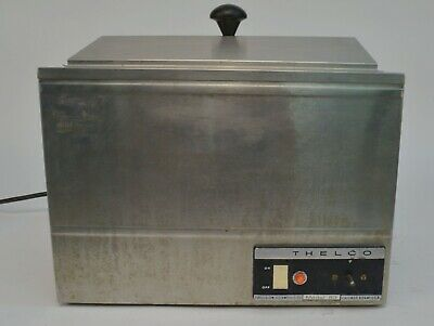 Precision Scientific Thelco 83 Stainless Steel Heated Water Bath w/ Lid