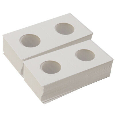 100x Cardboard Coin Storage Box Holder Case Protector 2x2 Collection Supply