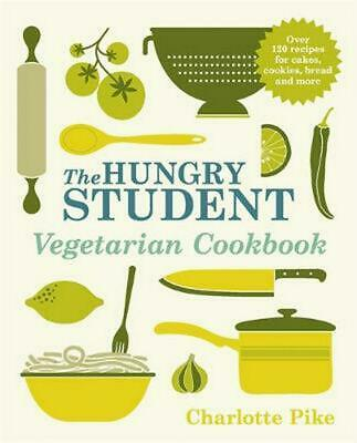 Hungry Student Vegetarian Cookbook by Charlotte Pike Paperback Book Free Shippin