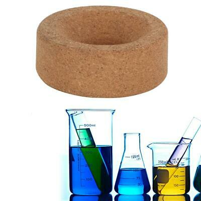 For 250-1000ml Flask Laboratory Bottle Cork Stands Ring Holder Round Bottom 80mm