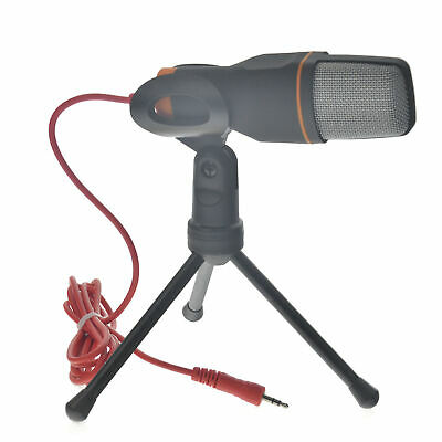Pro Condenser Sound Podcast Studio Microphone Mic For PC Laptop MSN Skype
