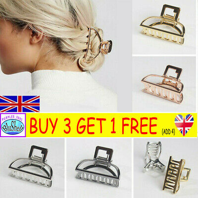 Ladies Girl Cute Large Hair Claw Girls Clamps Small Hair Clip Butterfly Claws PP