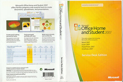 office home and student 2007 serial