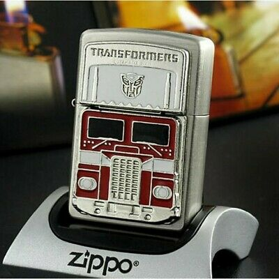 Silver Transformers Optimus Prime Limited Edition Zippo Lighter - US Shipping