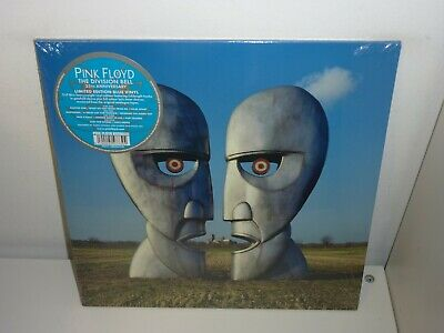PINK FLOYD - THE DIVISION BELL 25th ANNIVERSARY BLUE VINYL 2LP MINT/SEALED