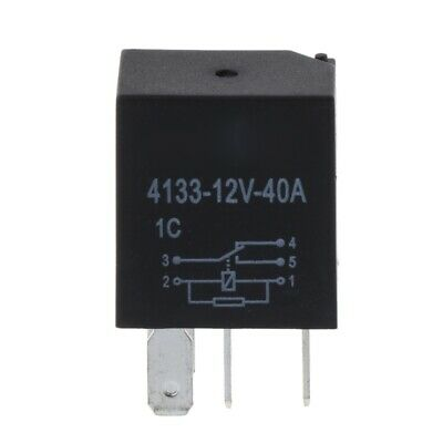 Automotive 12V 40A 5 Pin Relay Long Life Time Delay Relays Automotive For Car