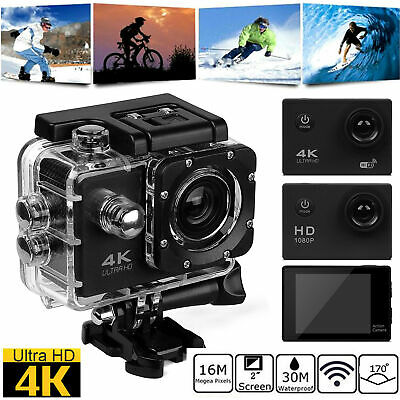 Ultra 4K 1080P WiFi Sports Action Camera Video Recorder Camcorder WATER SJ9000