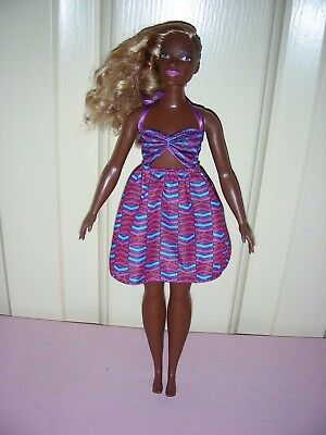 Barbie Fashionistas Curvy - Zig & Zag; AA with blonde rooted & black molded hair